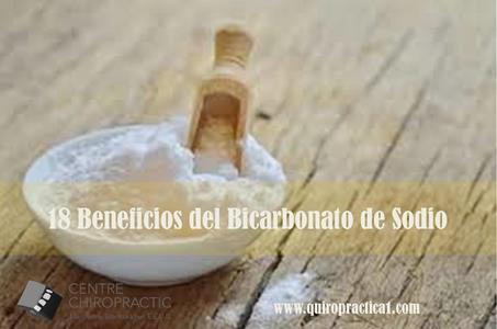 18 beneficios del bicarbonato