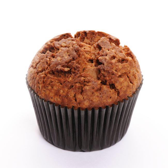 Muffin de semillas de lino y dátiles