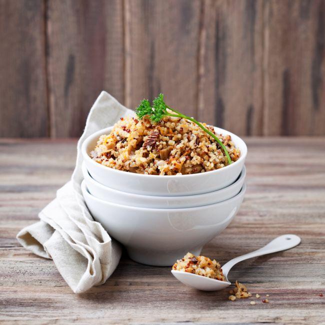 Ensalada fresca de quinoa Curry