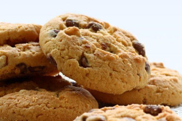 Cookies de chocolate y avellanas ecológicos