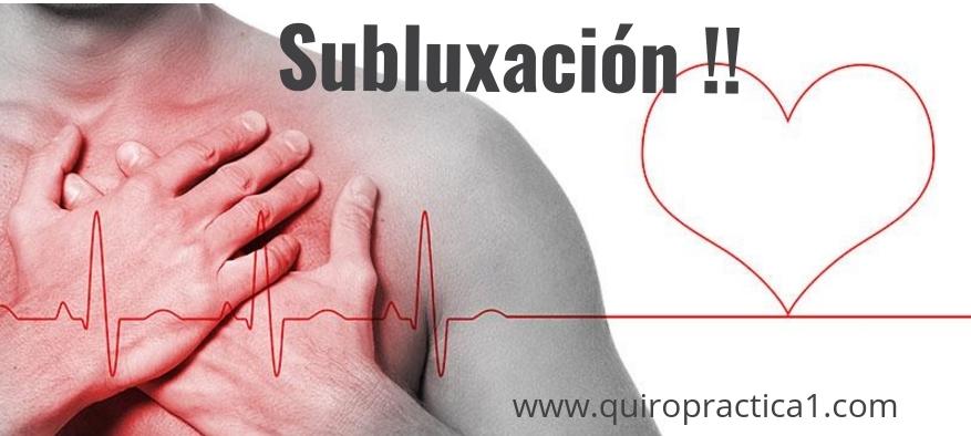 Subluxaciones y Enfermedades del Corazón