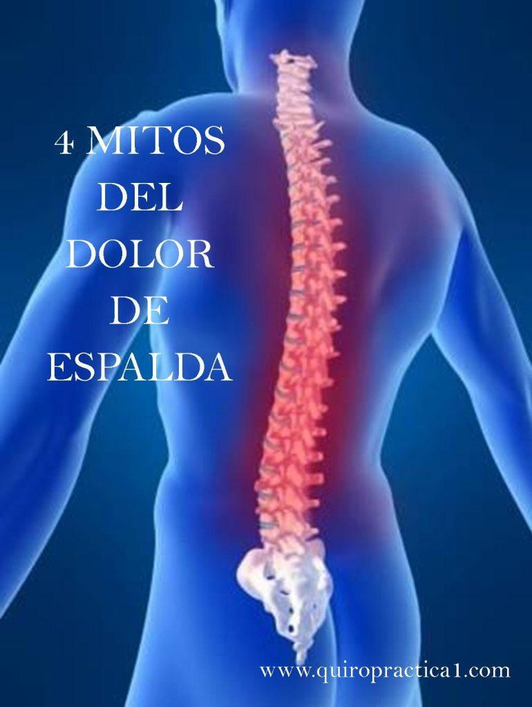 4 Mitos sobre el Dolor de Espalda