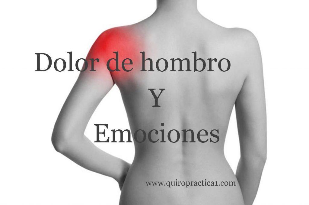 dolor hombro izquierdo por estres