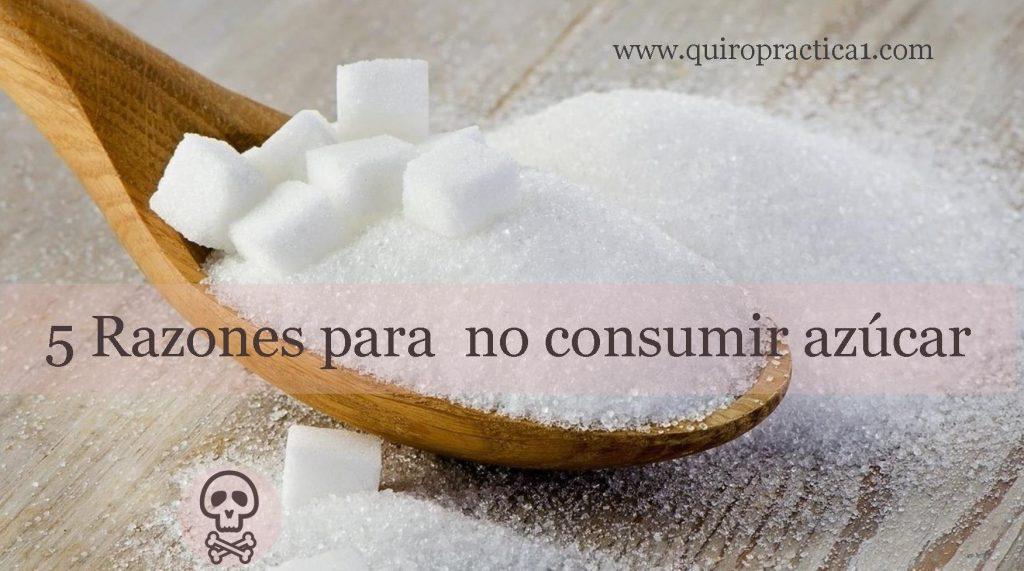 alejado del azúcar