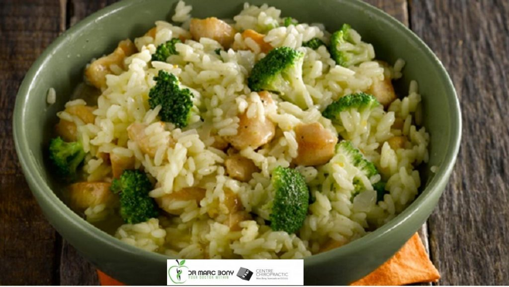 rissotto con arroz integral