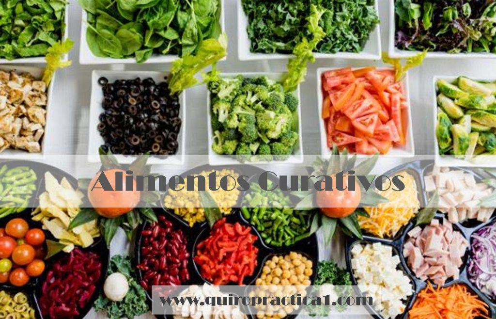 La dieta de alimentos curativos